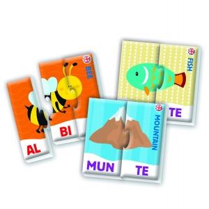 Puzzle educativ cu animale in silabe Agerino