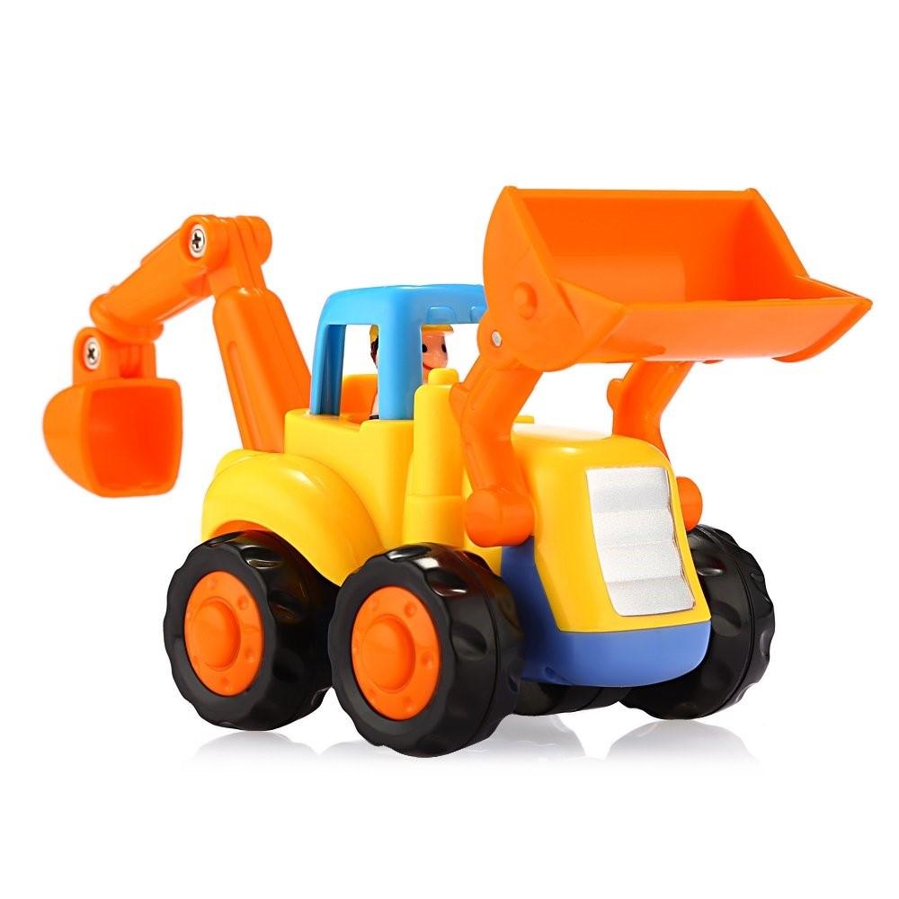 Set jucarii 4 vehicule Masini copii Hola