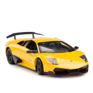 Masinuta metalica Lamborghini LP670-4 galben Rastar