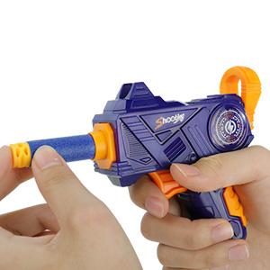 Joc Impusca si tinteste bilele plutitoare cu pistolul