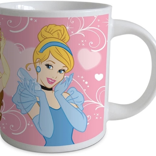 Set 3 piese mic dejun pentru copii Princess Disney