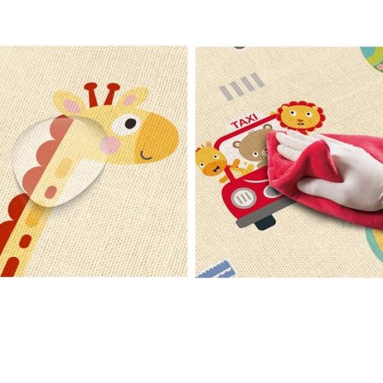 Covor joaca din spuma cu 2 fete termoizolant Masina