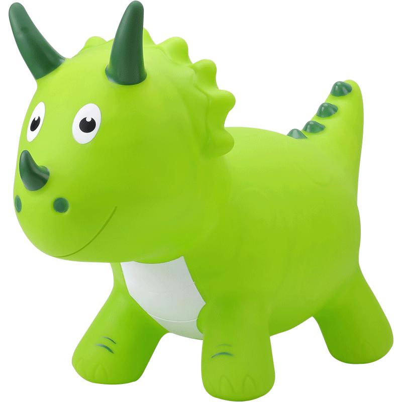 Dinozaur muzical gonflabil din cauciuc Animalute de sarit