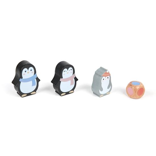 Joc echilibru din lemn cu pinguini Balanta Kabi
