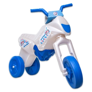 Motor Enduro Maxi fara pedale cu 3 roti sidef albastru