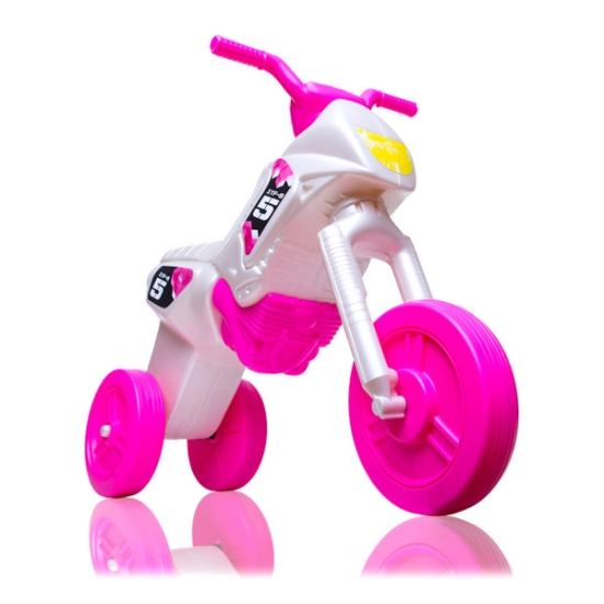 Motor Enduro maxi sidef roz fara pedale cu 3 roti
