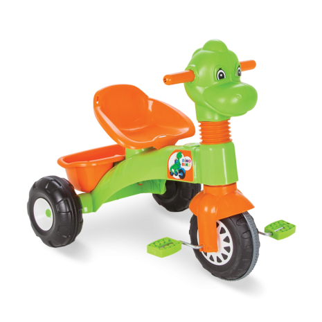 Tricicleta cu pedale Dino bicicleta pentru copii Pilsan