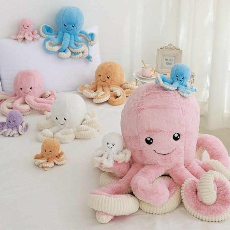 Caracatita de plus Jucarii moi copii cu brate lungi Octopus
