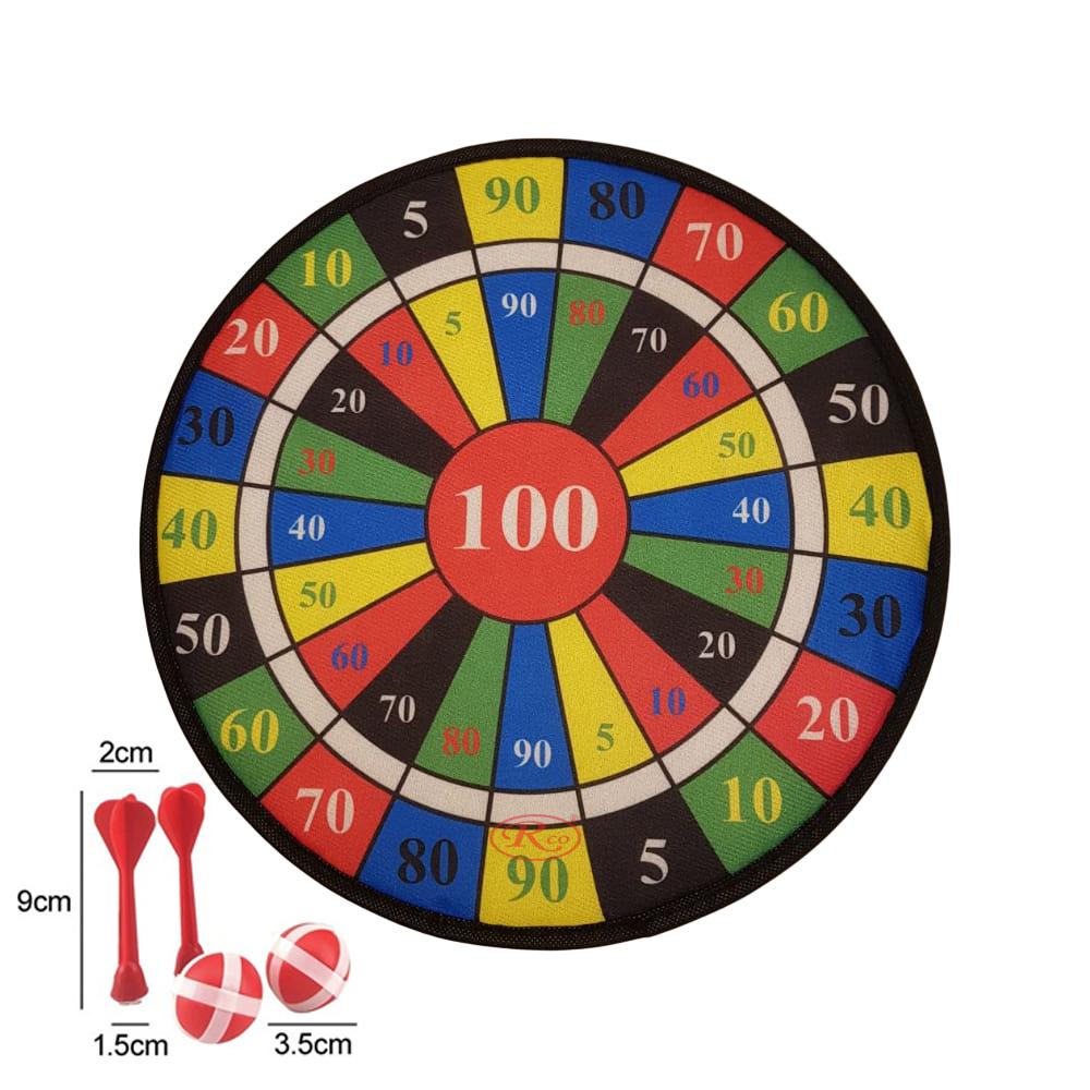Joc Darts pentru copii cu tinte Velcro si bilute