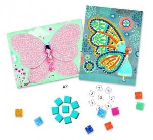 Joc creativ mozaic cu fluturi Djeco