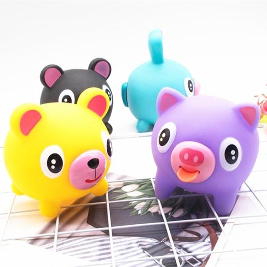 Jucarie antistres animale vorbarete cu limba Squeeze Ball