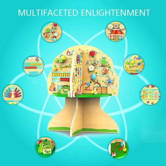 Jucarie educationala Centru de activitati Copacul Onshine