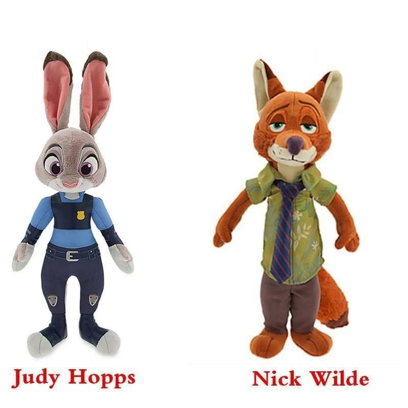 Jucarii plus Iepurasul si Vulpea Zootopia Judy si Nick
