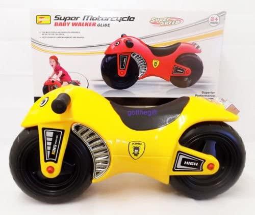 Motocicleta super bicicleta copii cu roti groase