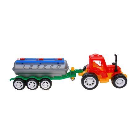 Tractor cu cisterna detasabila Jucarii vehicule Leszko