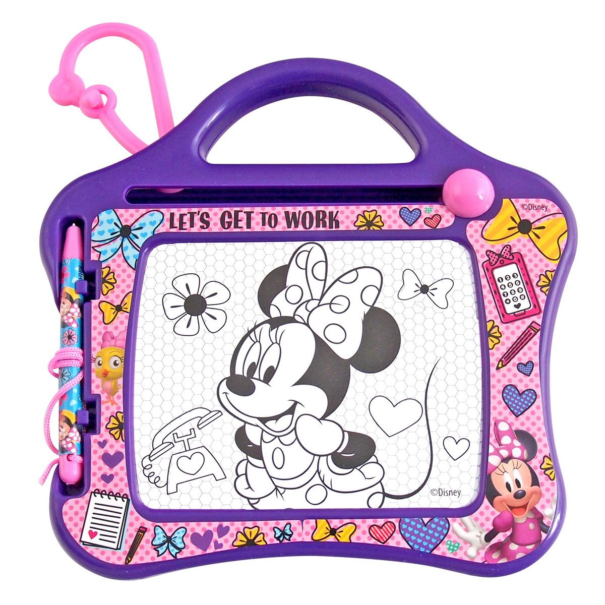 Tabla de scris si desenat cu burete magic Minnie Mouse