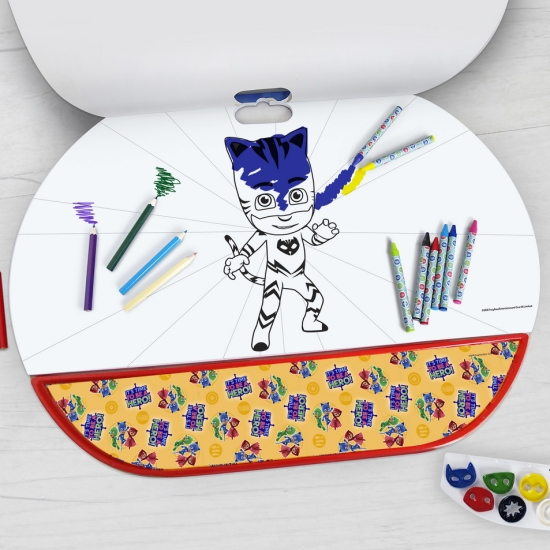 Set pentru desen 5in1 Gigablock Eroii in pijamale