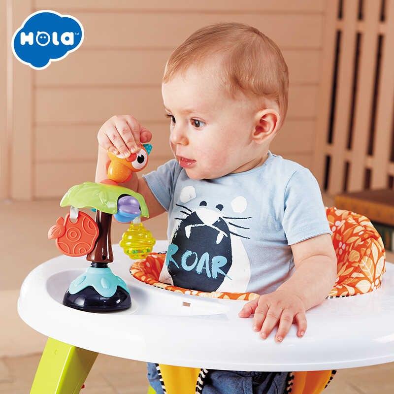 Jucarie interactiva Bebe cu ventuza Animalut Hola