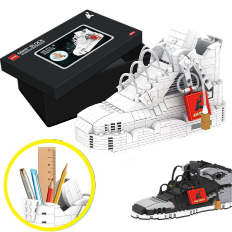Cuburi constructie Adidas Lego Suport accesorii papetarie
