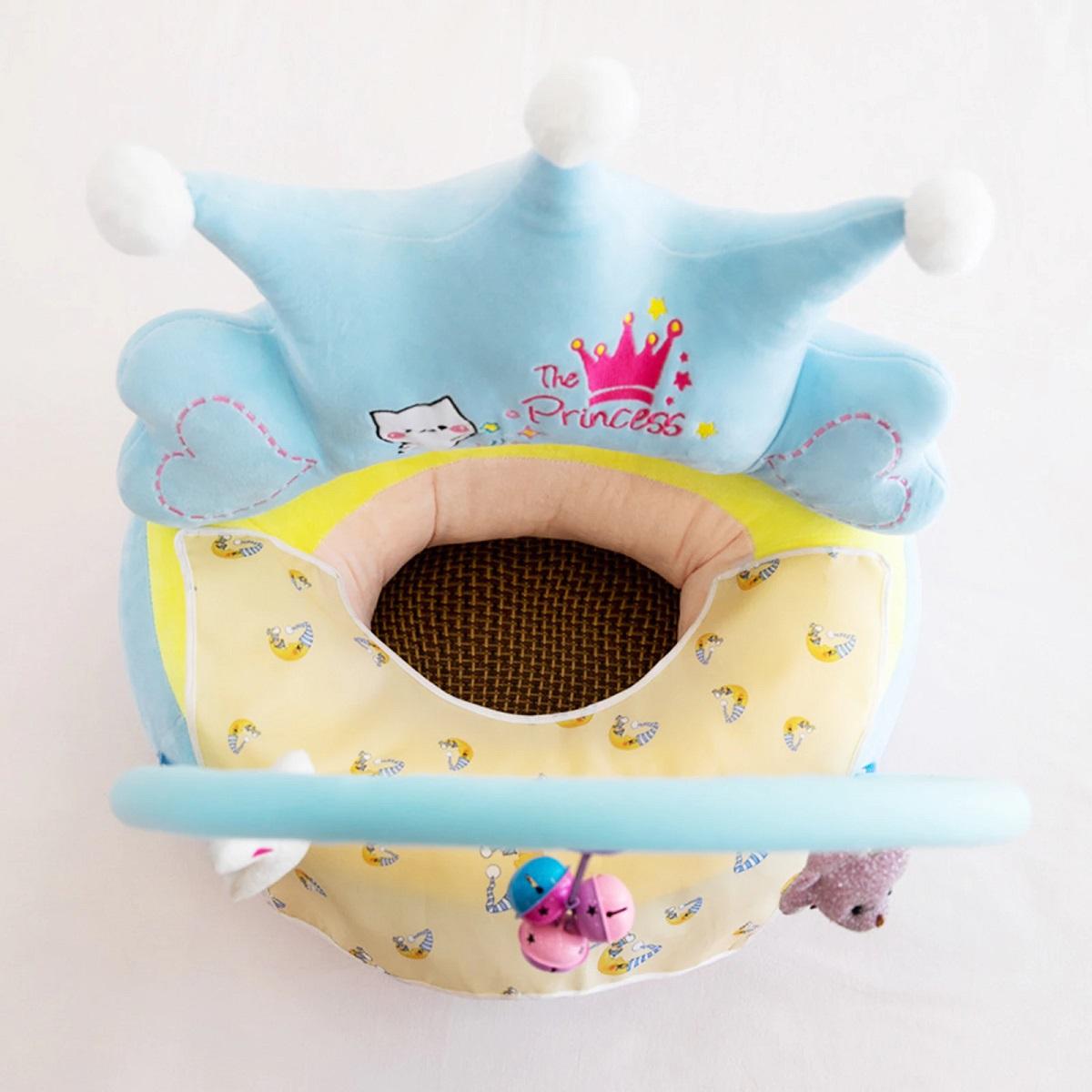 Fotoliu plus sit up Crown cu arcada si accesorii bebe