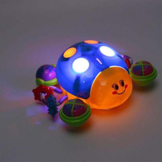 Jucarie interactiva Buburuza multifunctionala cu lumini si sunete