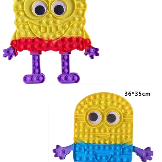 Minnions sau Spongebob Pantaloni Patrati Jucarii Pop It