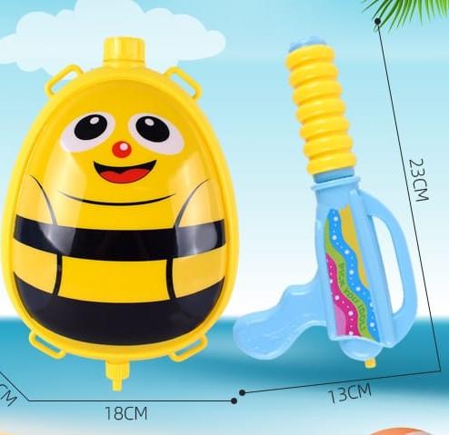 Pistol cu apa copii si rezervor model ghiozdan InsectePistol cu apa copii si rezervor model ghiozdan Insecte