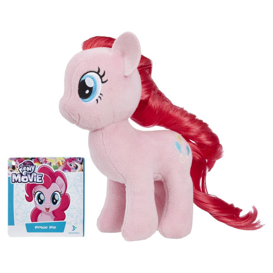 Jucarie ponei din plus cu par pentru pieptanat Pinkie pie