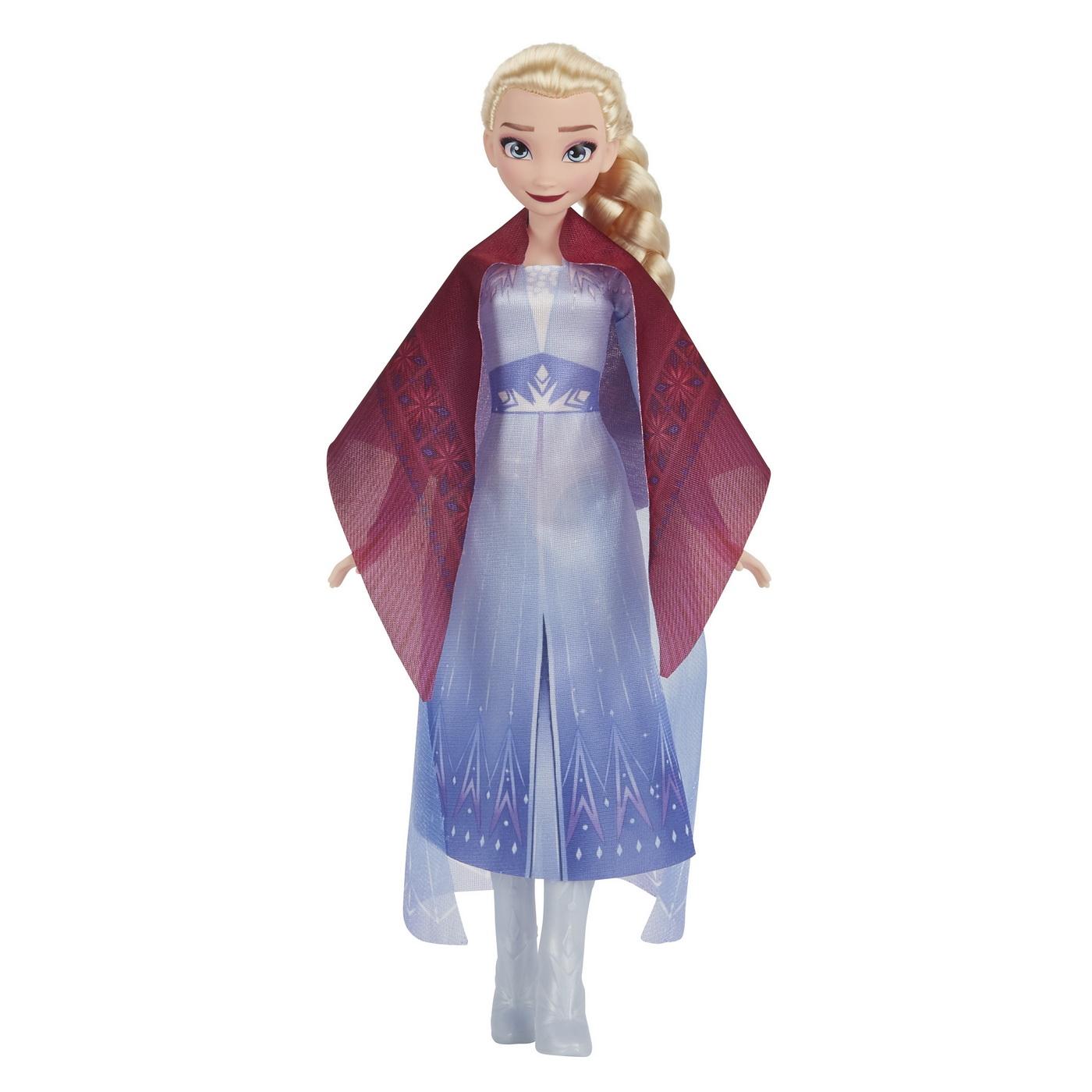 Set Papusa Frozen II Elsa si Renul la foc de tabara