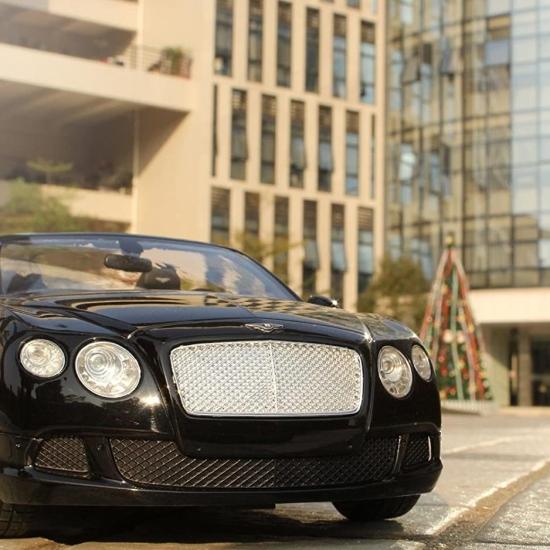 Masina cu telecomanda bentley continetal GT negru Macheta