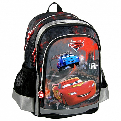 Ghiozdan ergonomic Rucsac scoala compartimentat Cars