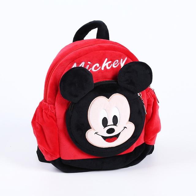 Ghiozdan gradinita 3D copii din plus Minnie si Mickey Mouse