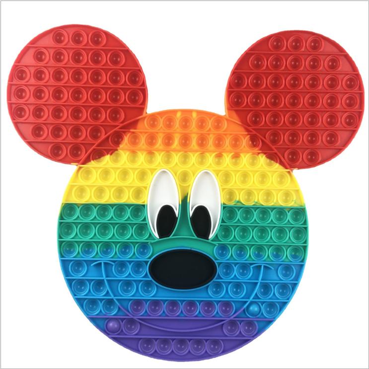 Jucarie Pop It Minnie Mickey Mouse Jumbo antistres