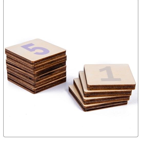 Jucarii Montessori forme geometrice Puzzle matematic cu pioni