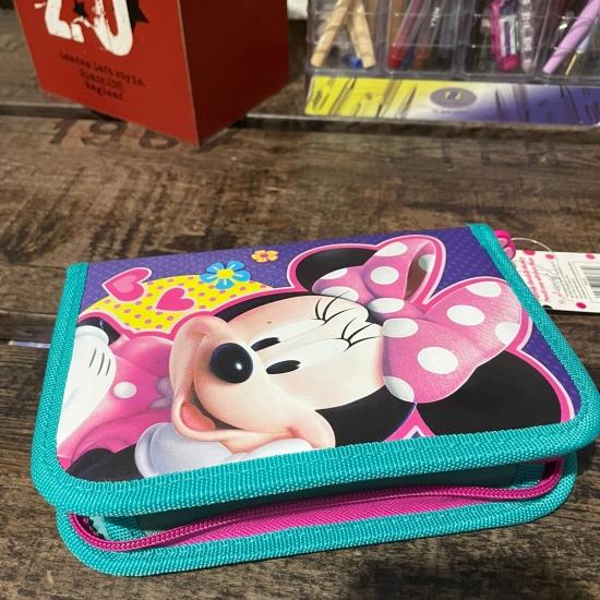Penar neechipat Minnie Mouse pliabil cu fermoar copii