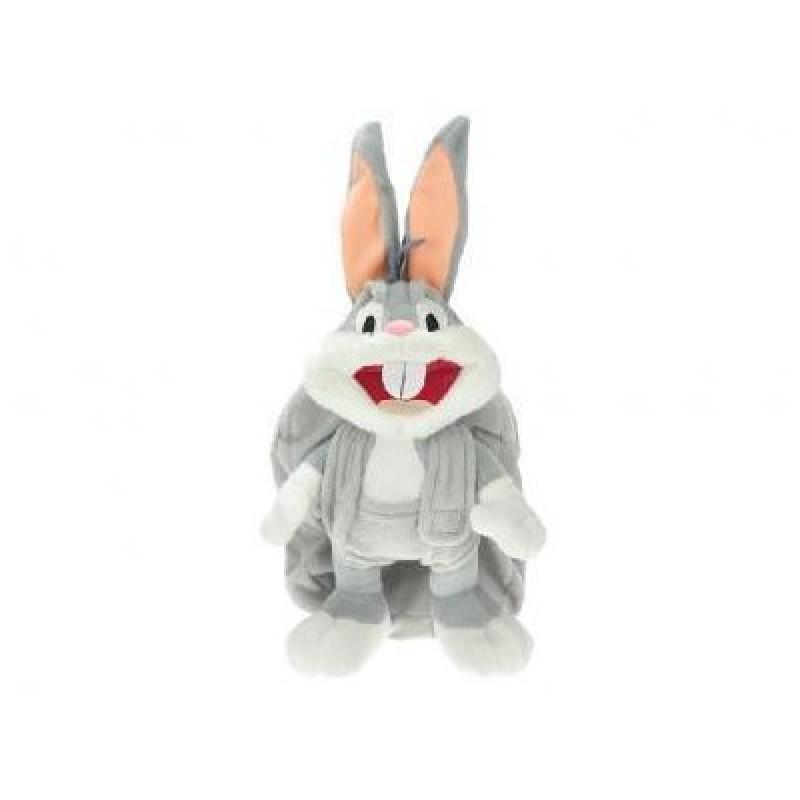 Rucsac copii din plus cu Bugs Bunny 3D 28 cm