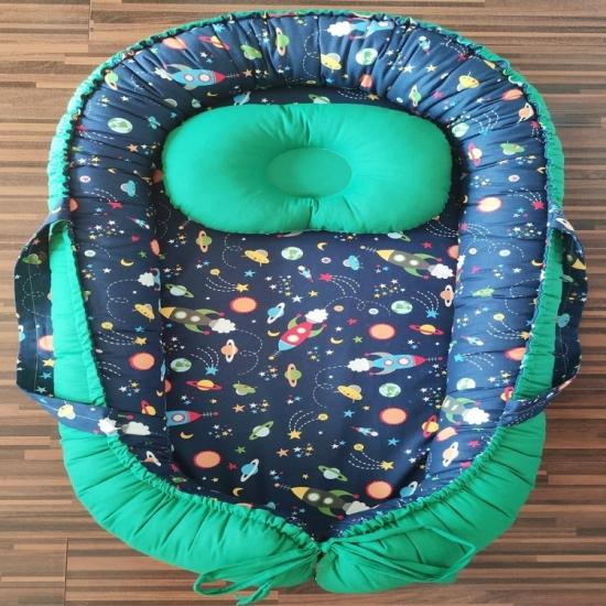 Cosulet bebelus Nave spatiale pentru somn relaxant Baby nest