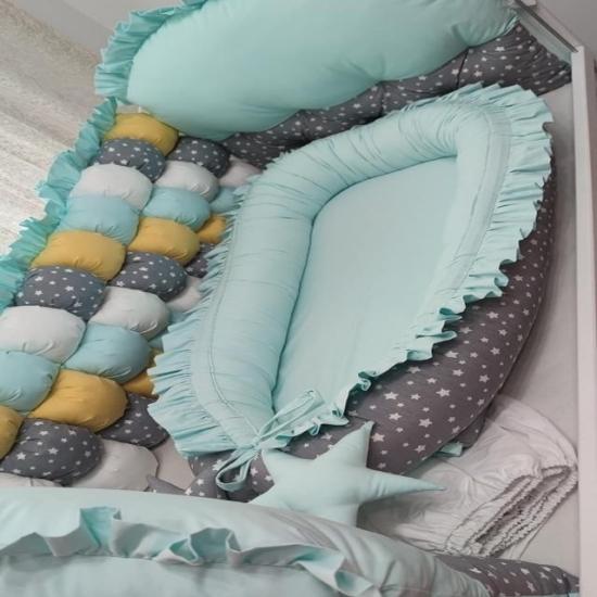 Cosulet bebelus Steluye pentru somn relaxant Baby nest