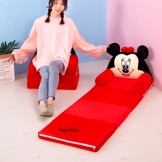 Fotoliu extensibil 150 cm Minnie si Mickey Mouse Canapea4.jpg1