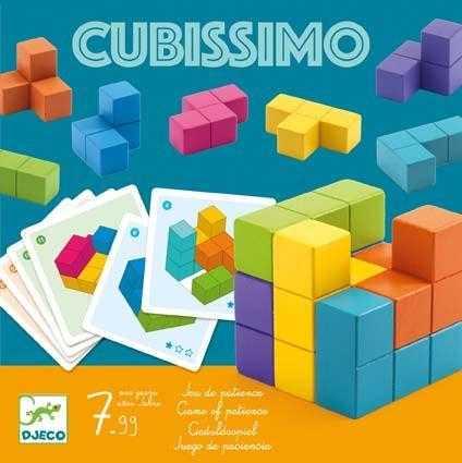 Joc educativ Cubul cu forme geometrice Cubissimo Djeco