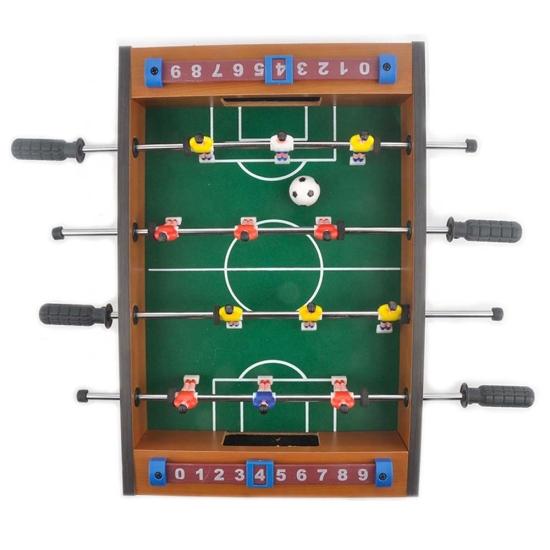 Joc fotbal de masa din lemn in echipa pentru copii