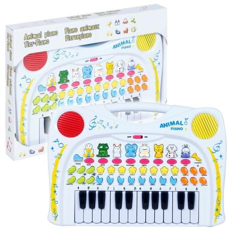 Jucarie Pian cu animale Instrument muzical copii