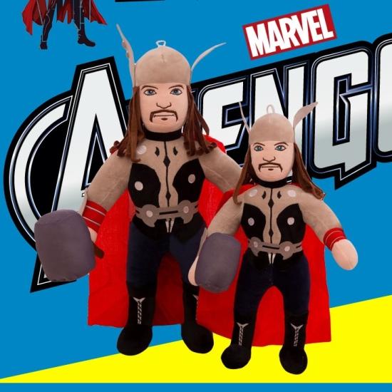 Jucarie din plus Mascota Thor din desene animate copii