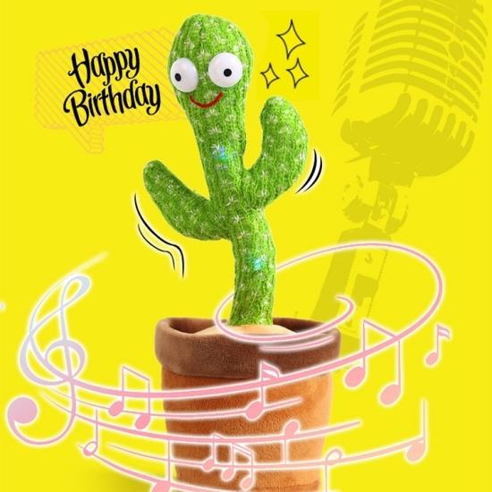 Jucarie plus Interactiva Cactusul vorbitor dansator Repeta copii