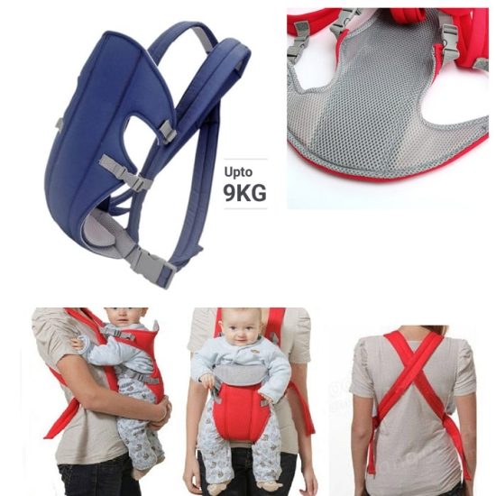 Marsupiu ergonomic cu 2 pozitii pentru bebe reglabil