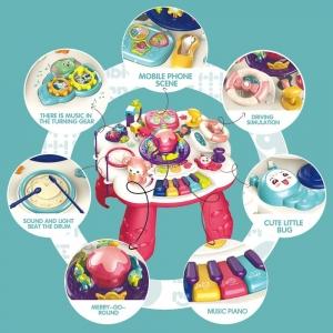 Masuta activitati Jucarii muzicale interactive copii Game101