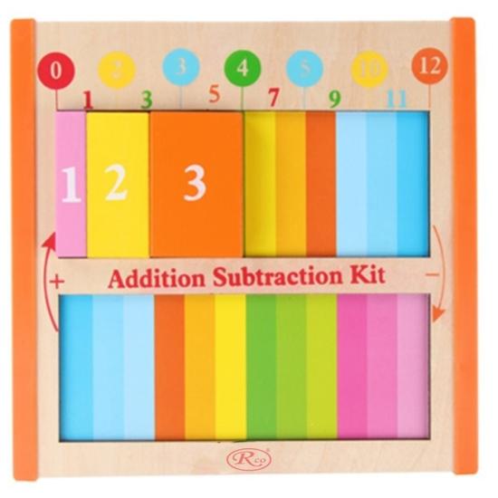 Puzzle 3D Invatam Aritmetica Jucarie Montessori educativa