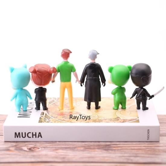 Set 4 figurine Baby Boss cu accesorii din plastic