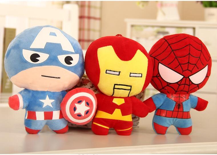 Set 6 jucarii plus Marvel Avengers muzicali in limba romana