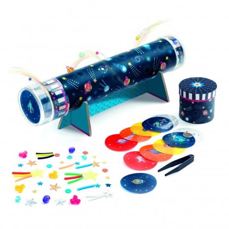 Set creativ Cum Formam Caleidoscopul cu efect optic Djeco